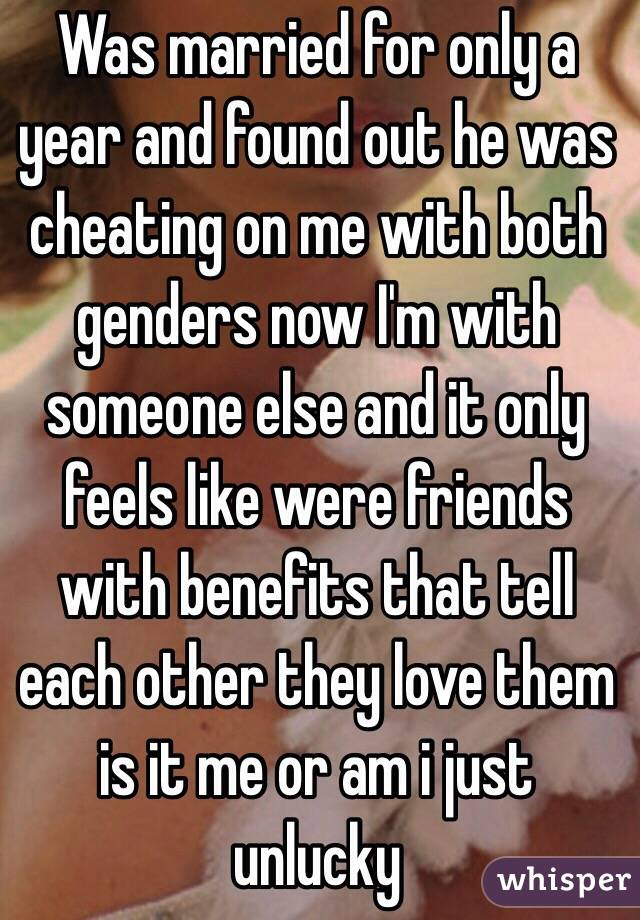 Friends with benefits when both are married
