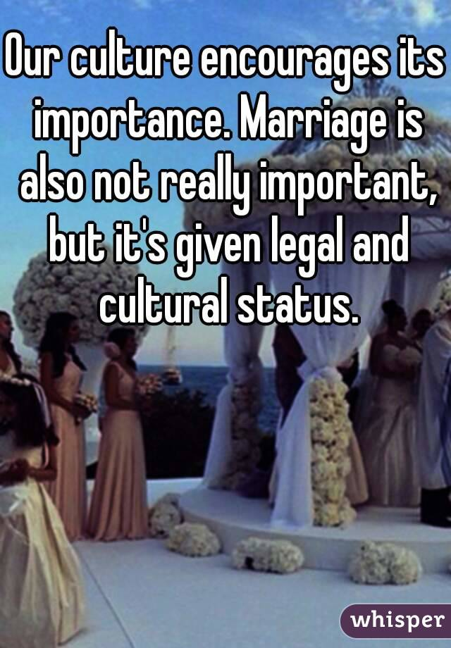 marriage and its importance