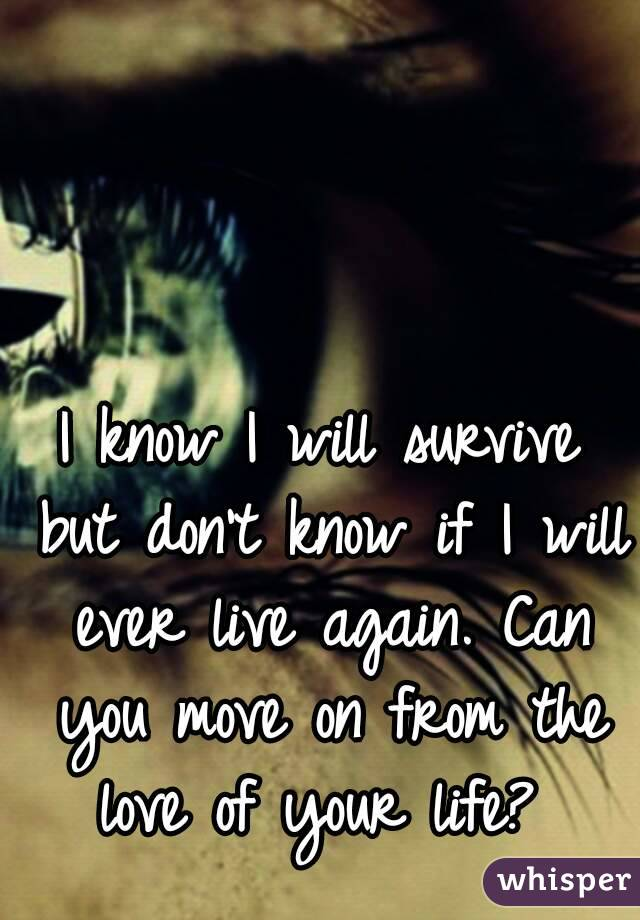 how can you move on
