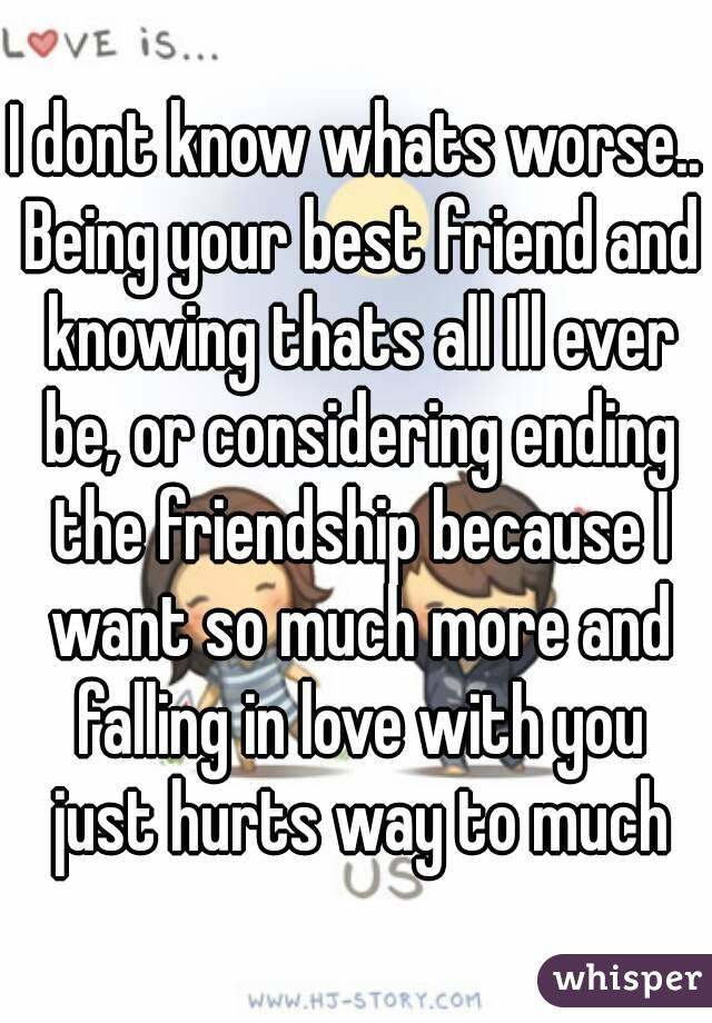 A Your Ending Friendship Friend With Best