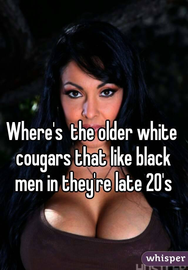 Cougars and black men