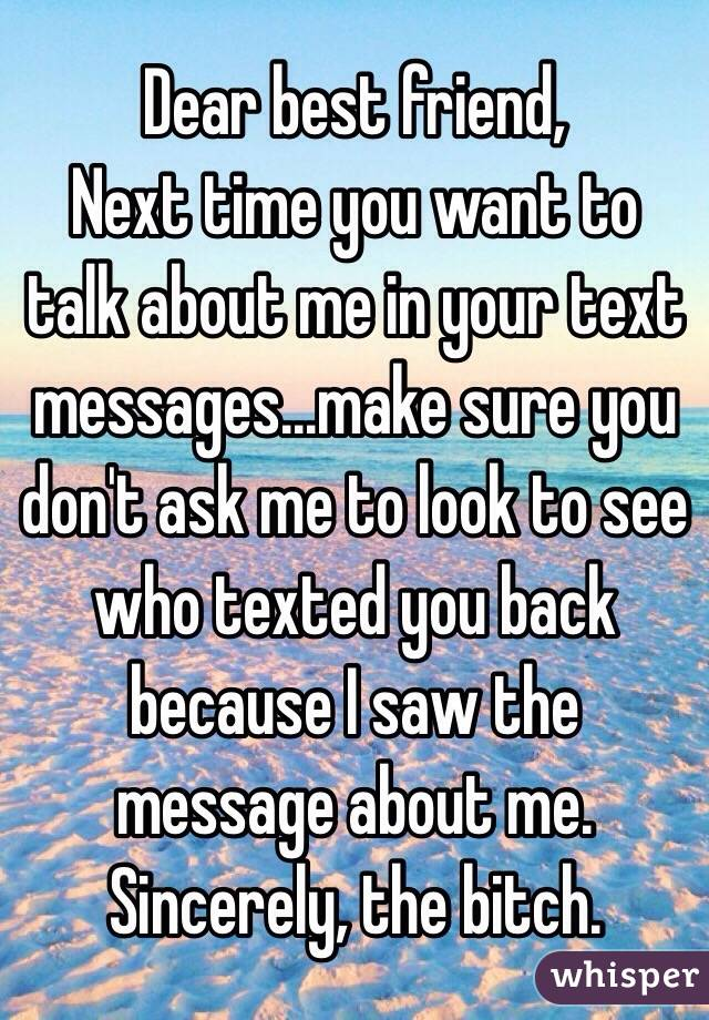 special friend text messages
