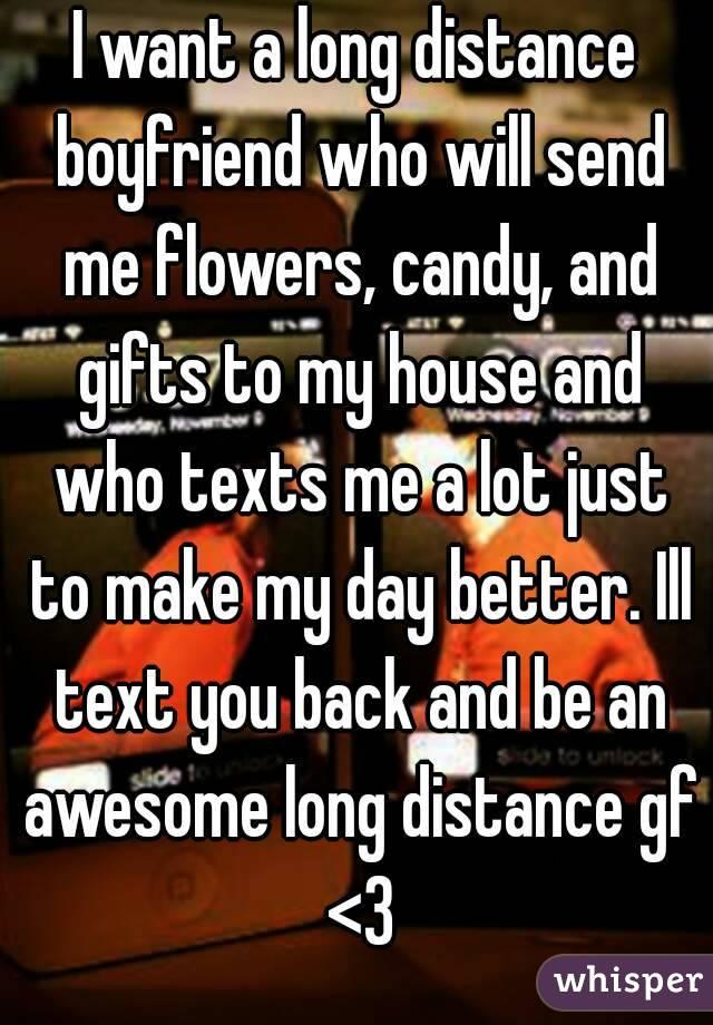 what to send long distance boyfriend