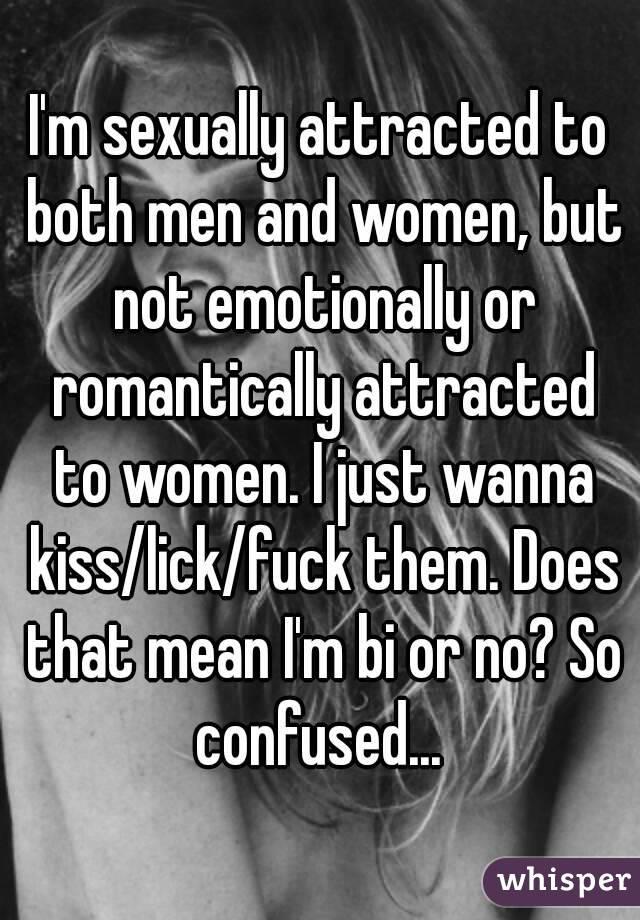 Women who just wanna fuck