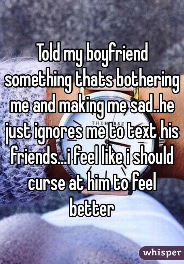 Is my boyfriend making me depressed