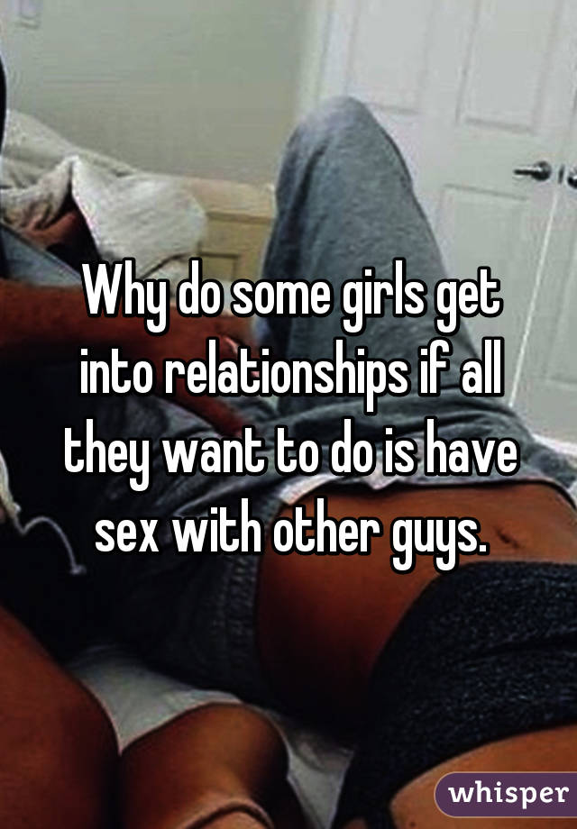 What Girls Do When They Want Sex