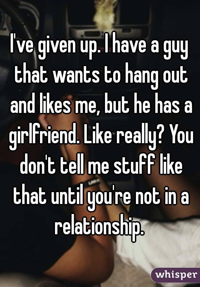 When A Man Wants Out Of A Relationship
