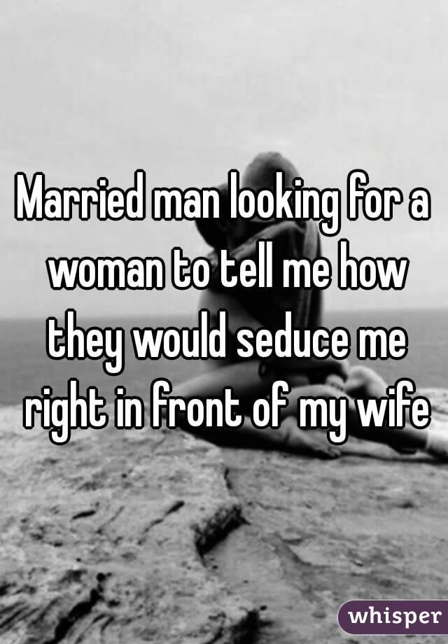 married men looking for women