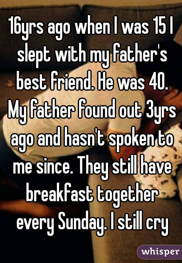 I Slept With My Friends Dad
