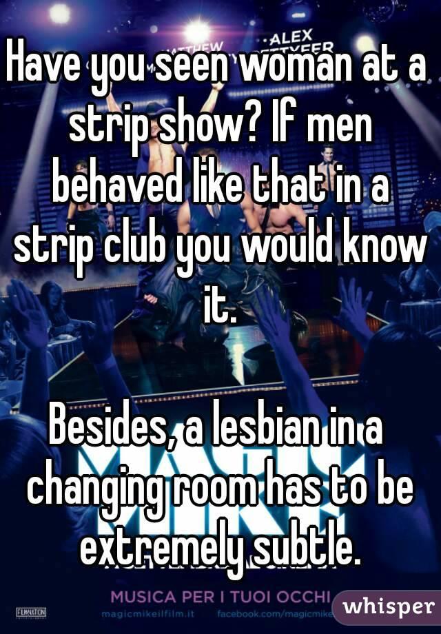 Lesbian Changing Room