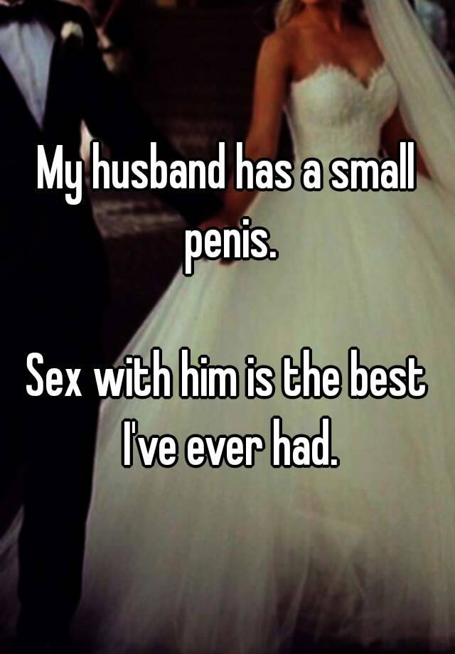 Not Small penis wife sex fotos here against