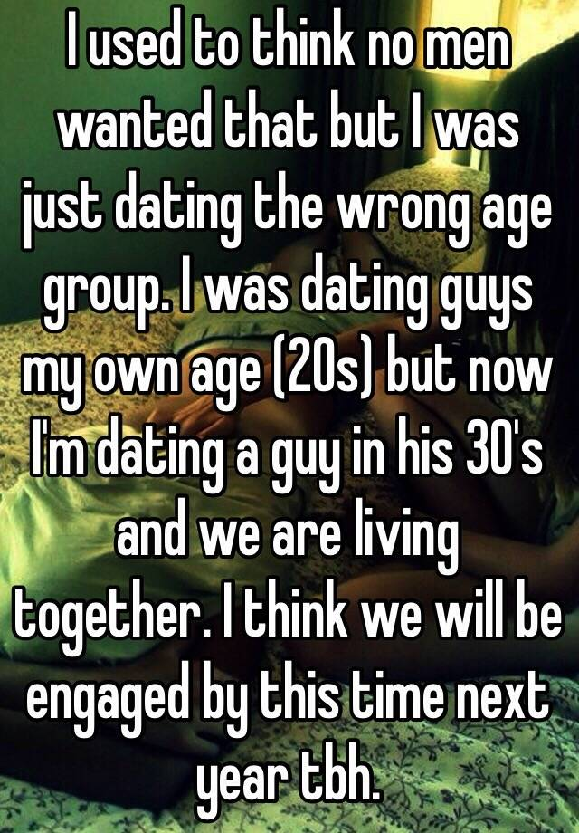 Dating for 3 years and not living together