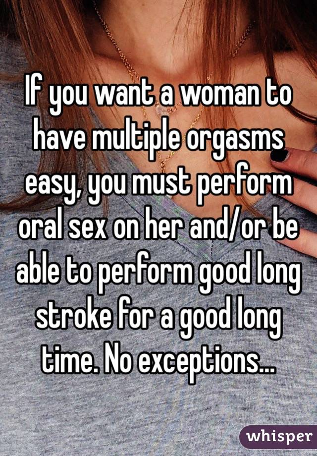 Mistaken. How can i have multiple orgasms confirm