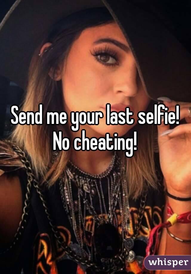Is Sending A Selfie Cheating