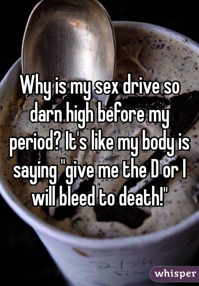 High sex drive food