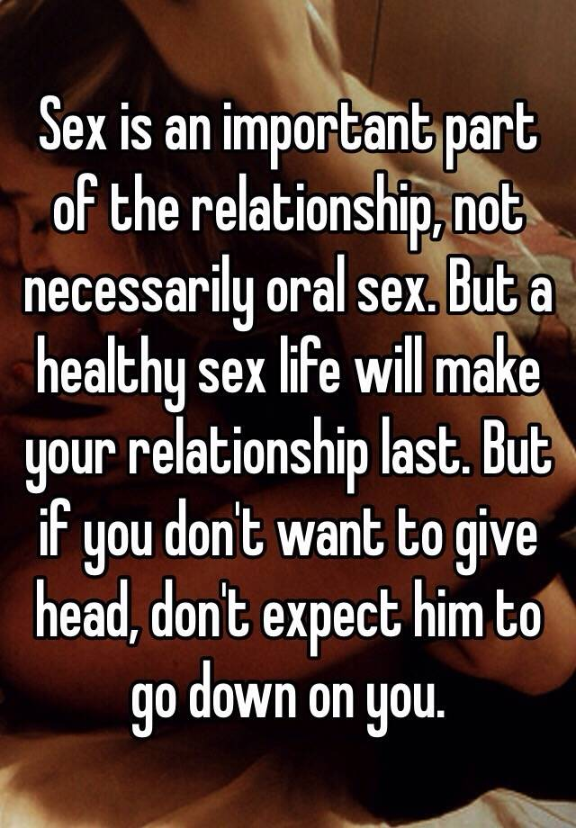 Importance of sex in human life