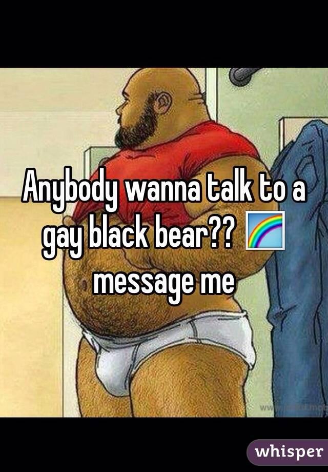 Black and bear gay