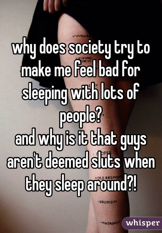 sleeping with sluts