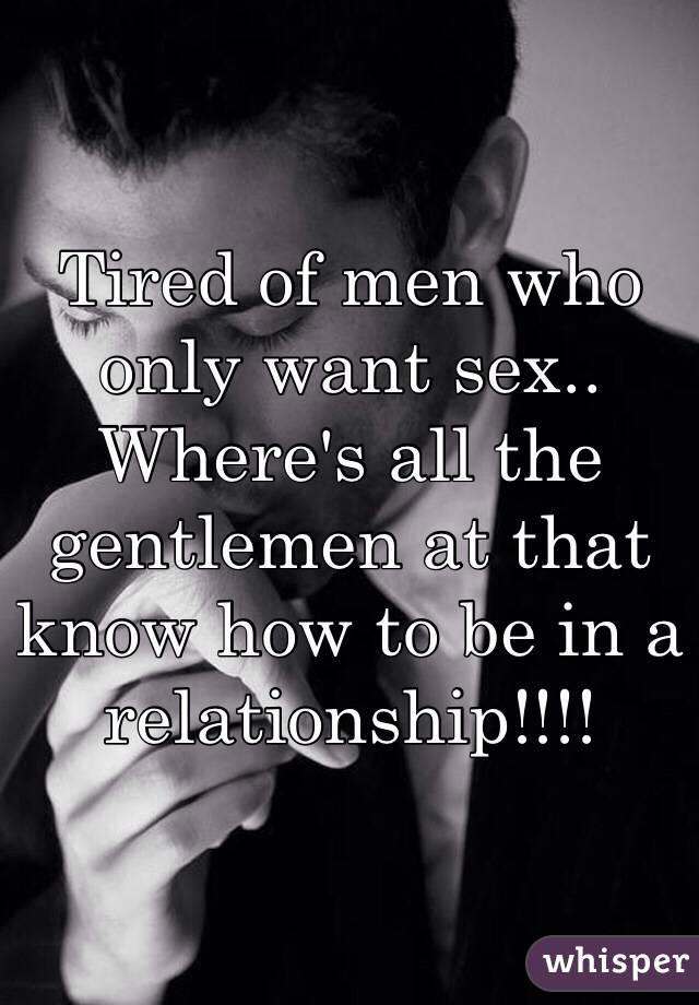 when do men want sex
