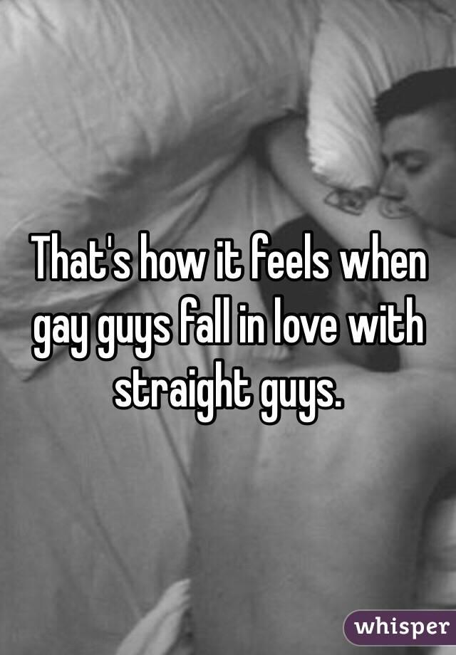 Straight Guys In Love