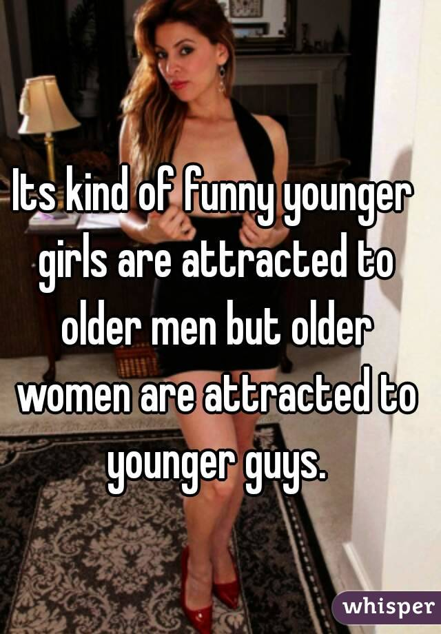 Why men are attracted to younger women