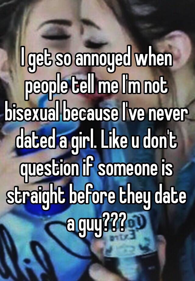 How tell if someone is bisexual