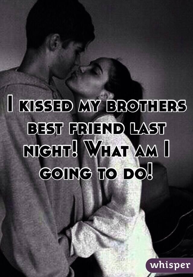 kiss my friend