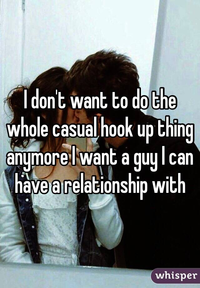 I Dont Want To Hook Up With Him