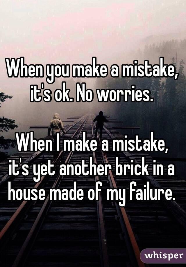 ok no worries