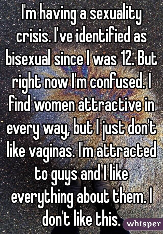 im bisexual but i dont find fags attractive