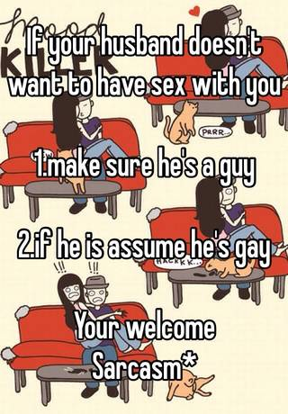 When a man doesnt want sex