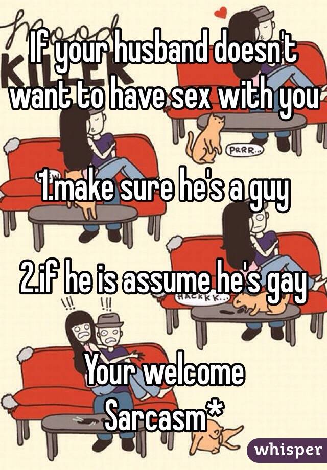 Why a man doesnt want sex