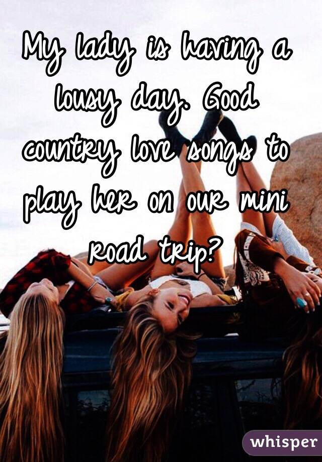 Good country love songs for her