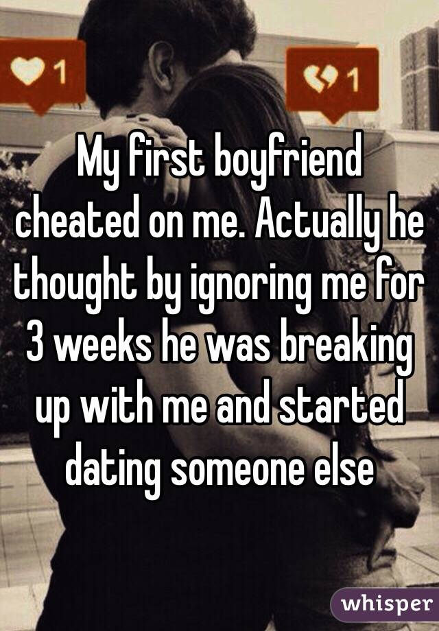 My first love is dating someone else