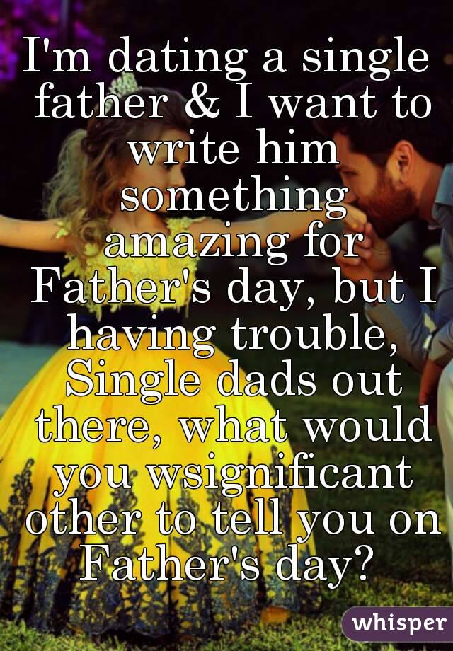 I Want To Be A Single Father