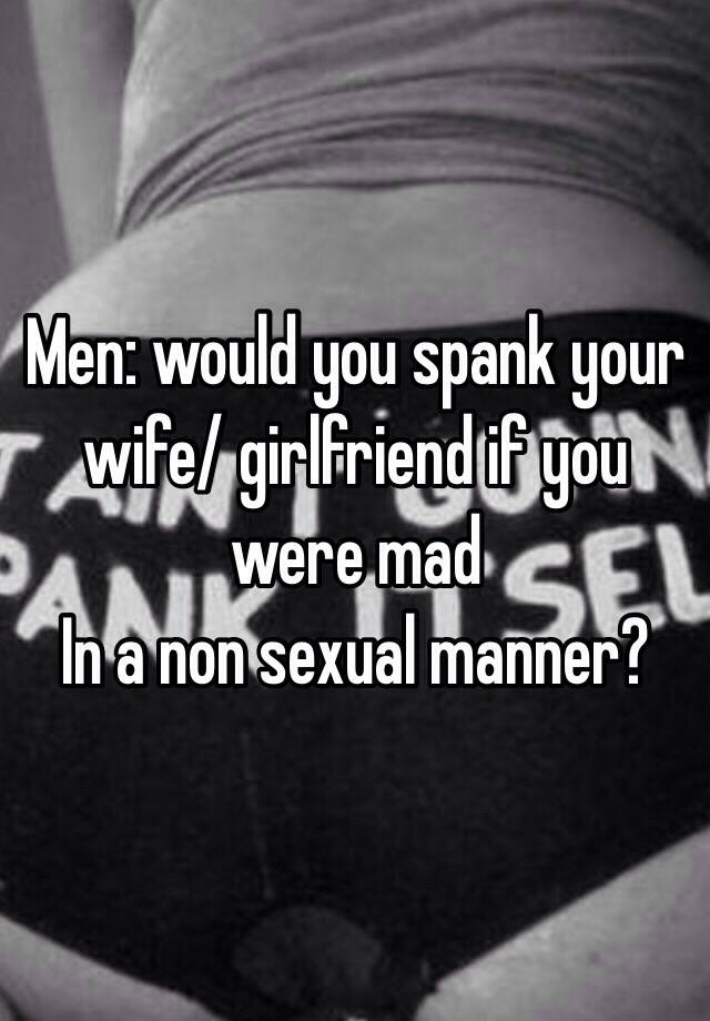 Spank your wife