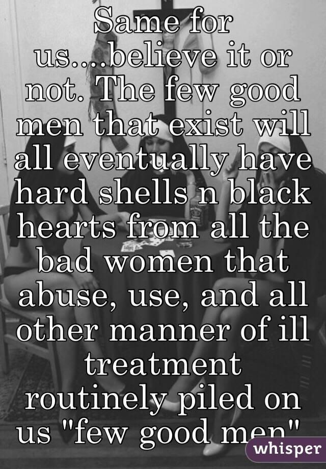 men have it hard