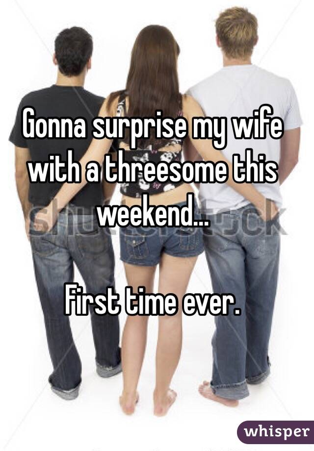 Surprise Wife With Threesome