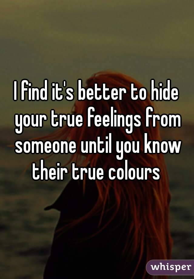 How To Tell If Someone Is Hiding Their Feelings