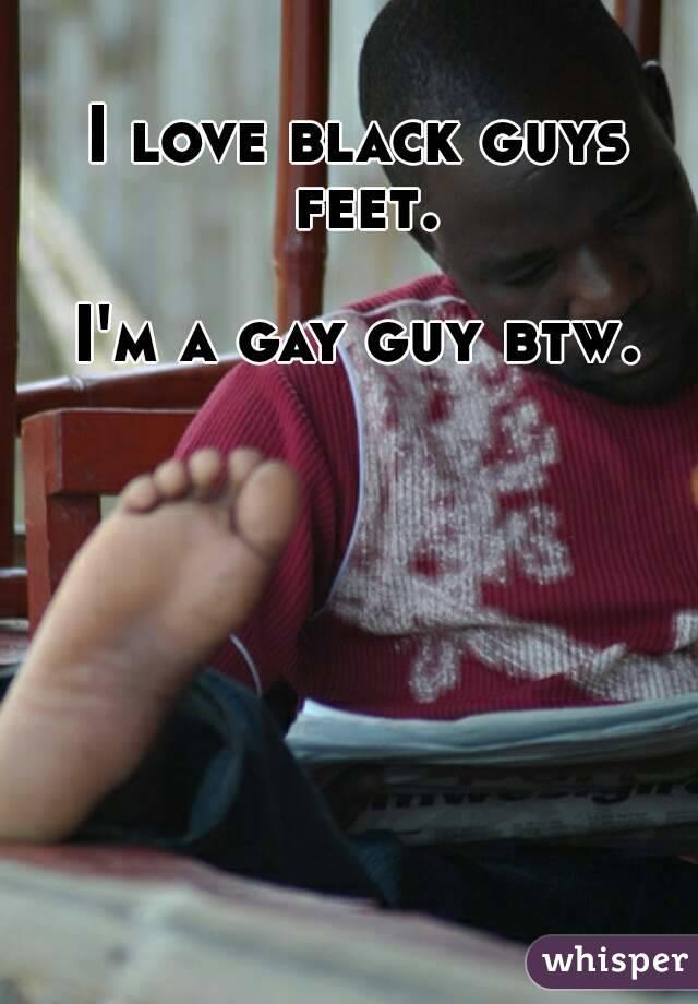 Black gay male feet