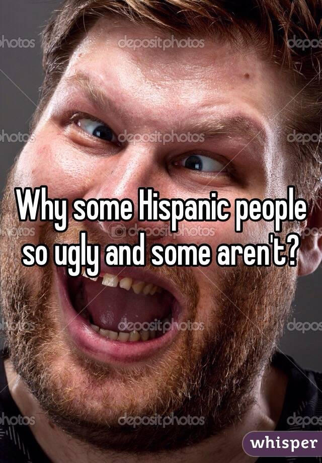 why some people are ugly