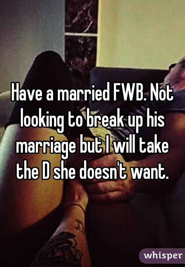 Married fwb