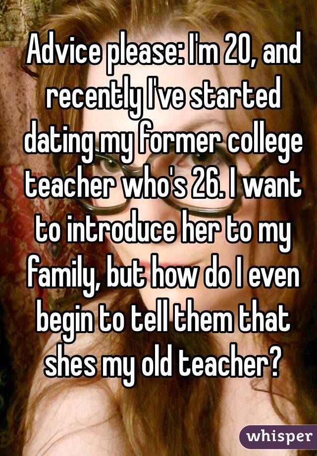 I Am Dating My Former Teacher