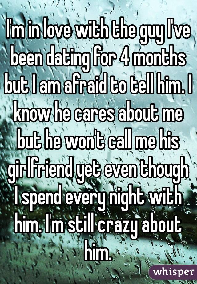 guy im dating doesnt call me