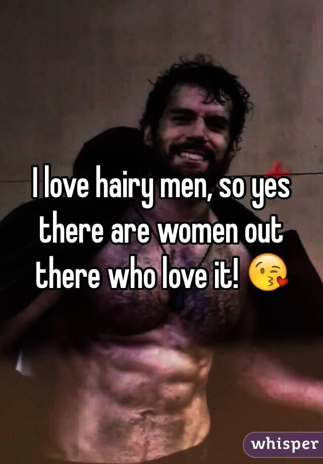 Love hairy men