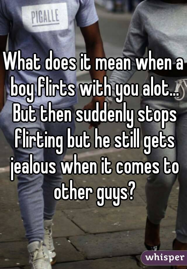 What Does It Mean When A Guy Flirts With You