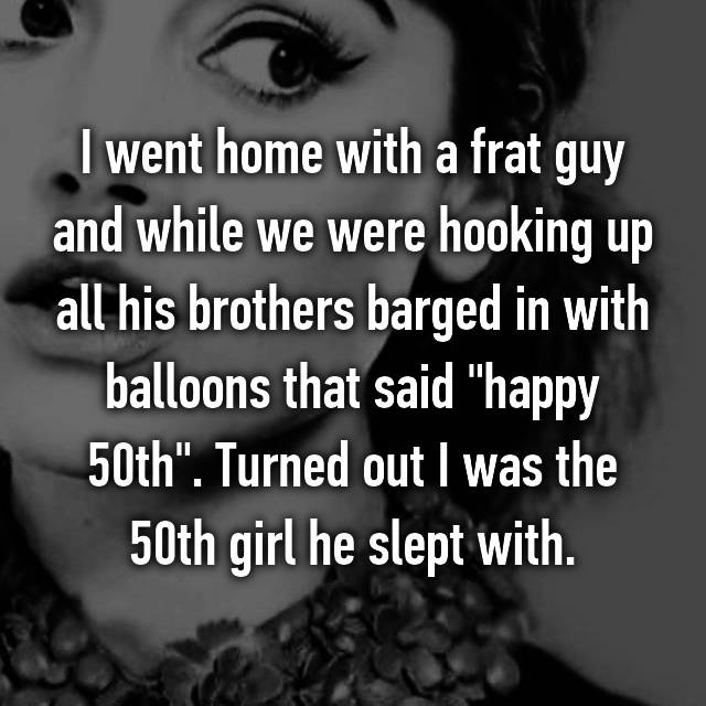 Nuts hookup confessions