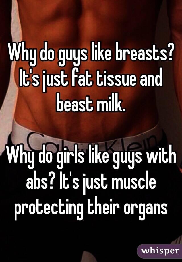 Do men like breasts