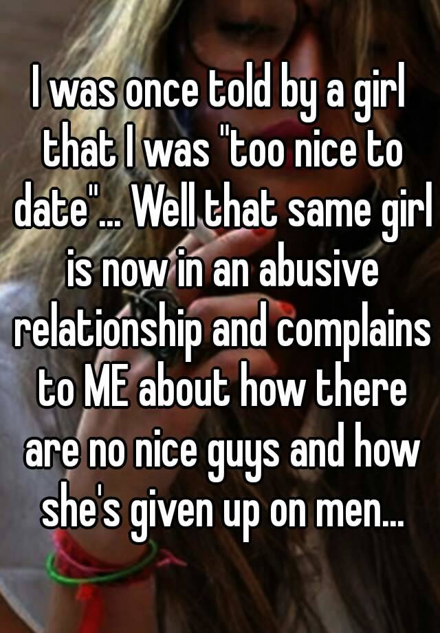 Why some guys give up on dating