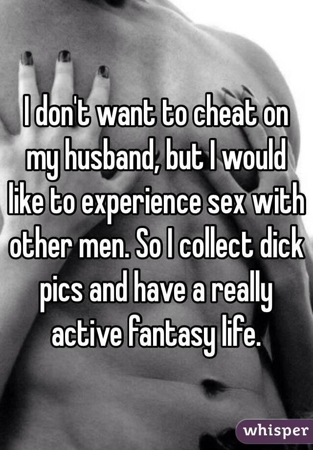i want my husband to cheat